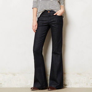 Anthropologie Jeans Pilcro Stet Flare Dark Denim